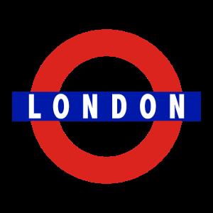 London U-Bahn Schild