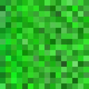 Grüner Pixel Design