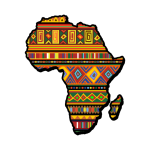 Afrika Muster Shirt