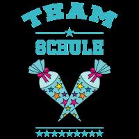 Team Schule Einschulung Schultüte Zuckertüte türk