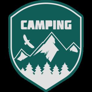 Camping Logo Illustration