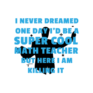 Lehrer Mathelehrer Cool Mathematik Studium Dozent