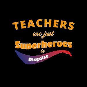 Lehrer Superheld Held Shirt Lustig bester Dozent