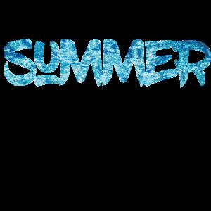 Sommer und Meer T-Shirt Geschenk Geschenkidee