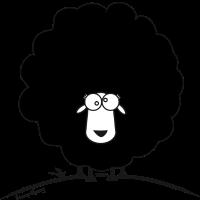 Sheep Marry black / Schaf Marry schwarz