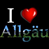 i love allgaeu, Allgäu, Ich liebe das Allgäu