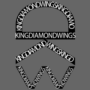 King Diamond Wings Logo