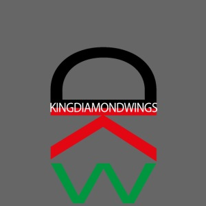 King Diamond Wings Colored Logo