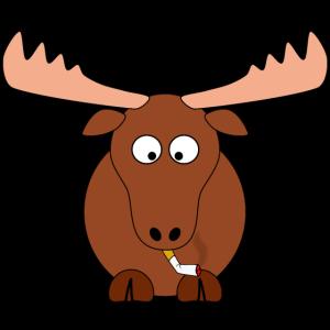 süßer rauchender ELCH