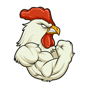 Rooster At The Gym - Training Fitness Muskeln