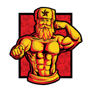 Soviet At The Gym - Training Fitness Muskeln