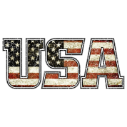 USA Typo Flag (oldstyle)