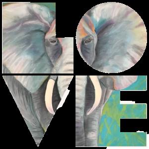 Elefant der Liebe
