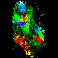 gxp kolibri feuerkehl wasserfarbe spritzer