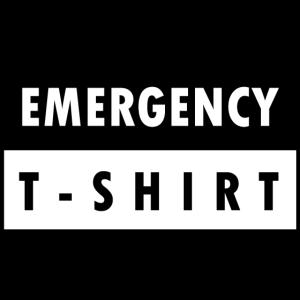 Notfall-T-shirt