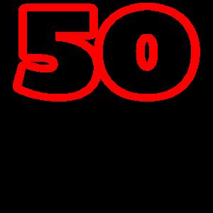 50 Jahre gut aussehen schoen geburtstag geschenk m