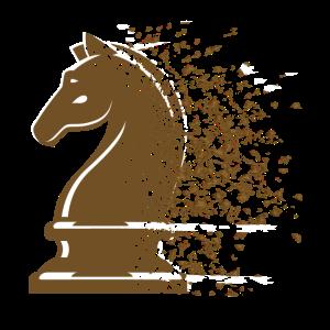 Schach Schachfigur Pferd