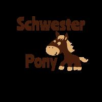 Tausche Schwester gegen Pony Geschwister Geschenk