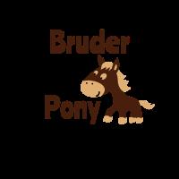 Tausche Bruder gegen Pony Geschwister Geschenk top