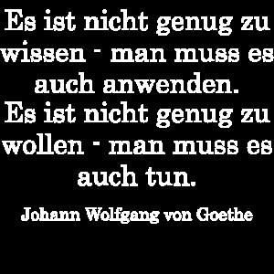 Zitat Johann Wolfgang von Goethe