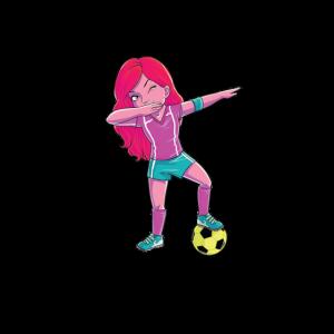 Fußball Mädchen | cool jugendlich Geschenk lustig