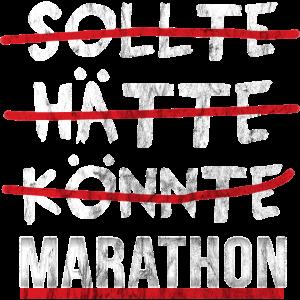 Marathon Shirt Laufen Joggen Geschenk