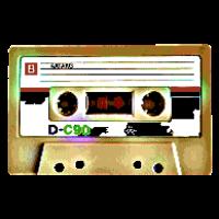 Kasette Retro Pixel