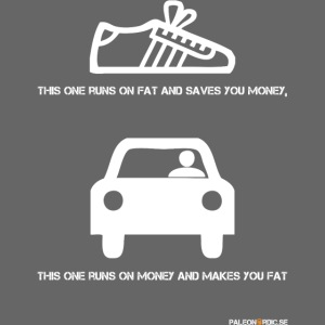 runs on fat shoe