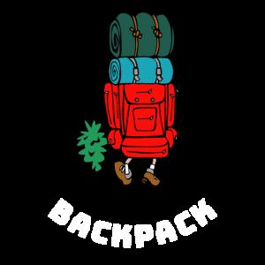 Back Pack Backpack Reise Shirt