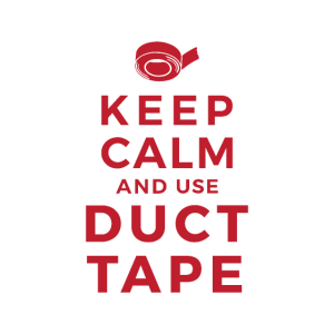 Keep Calm And Use Duct Tape - Geschenkidee idee