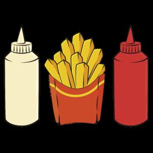 Pommes Ketchup Mayo