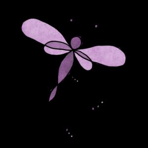 filigrane Libelle