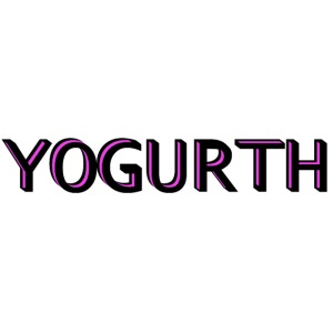 YOGURTH black 3D