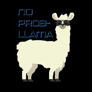 No Problama Lustiges Design Geschenk Alpaka Tier