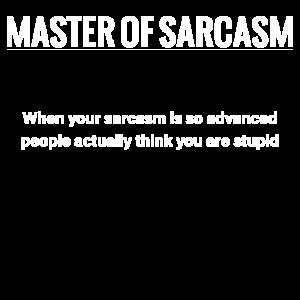Meister des Sarkasmus Meister Sarkazm