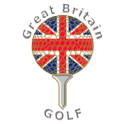 great britain union jack golf logo