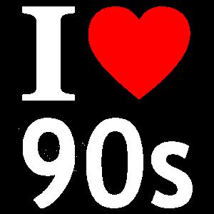 I love 90s / 90er / Neunziger / Nostalgie