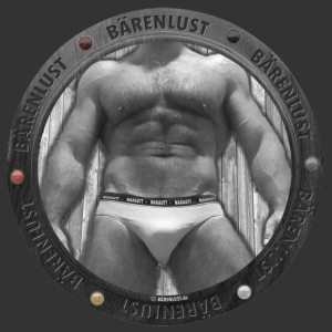 BAERENLUSTiges Bullauge mit Muscle Body