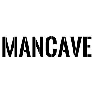 Man Cave Stencil