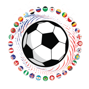 Soccer Flags of the World Football