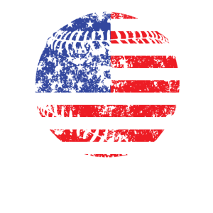 Baseball USA Flagge vierten Juli