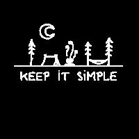 Keep it simple - Camping - Camper - Zelt - Urlaub