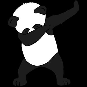 Dabbing Panda dabbender PanDAP Dab Geschenkidee
