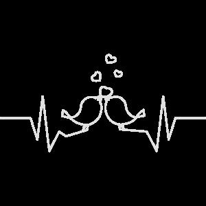 Herzschlag Voegel
