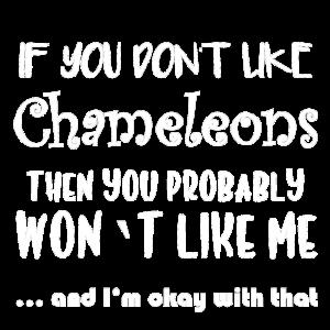 Chameleon Dislike weiß