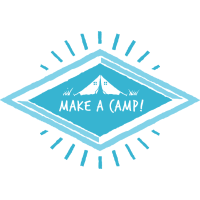 Make a Camp T-shirt Geschenk