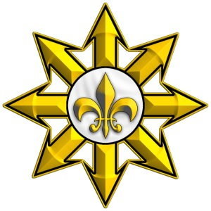 gold royalist symbol