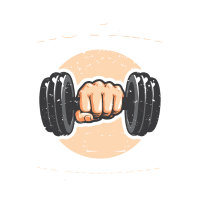 Keine Schmerzen kein Shawarma Gewichtheben Fitnessstudio Geschenk