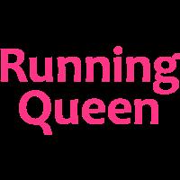 Running Queen | Sport-T-Shirts bedrucken