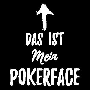 Poker Shirt - Das ist mein Pokerface